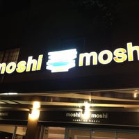 Photo taken at Moshi Moshi by Daniel C. on 10/13/2012
