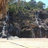 Photo taken at Amara Dolce Vita Beach by Anna♍ S. on 5/20/2013