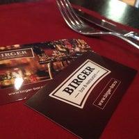 Photo taken at Birger bar & restaurant by Kot_naoborot on 2/25/2014