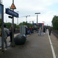 Photo taken at Aachen West Station by Ying-Chia L. on 5/11/2013
