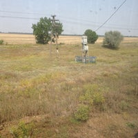 Photo taken at станція Лоцкіно by Виталий Г. on 8/13/2013