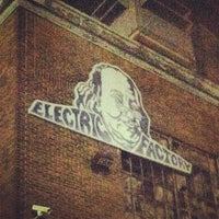 Photo taken at Electric Factory by Brittany B. on 11/17/2012