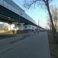 Photo taken at metro Ulitsa Gorchakova by Levchik M. on 4/16/2013