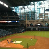 Photo taken at Minute Maid Park by Christina on 7/19/2013