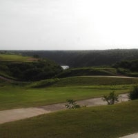 Photo taken at Dye Fore Golf Course by Jorge A. on 6/22/2013