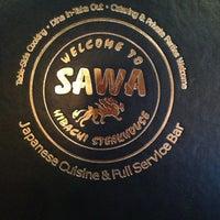 Photo taken at Sawa Japanese Cuisine by ☀️ Lisa M. on 8/18/2013
