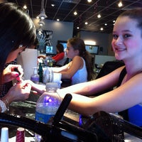 Photo taken at Chic Nails by Ashley Nicole B. on 10/24/2013