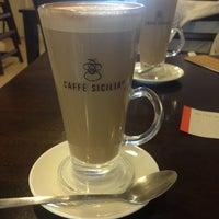 Photo taken at Caffè Sicilia by Екатерина В. on 4/23/2014