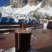 Photo taken at Rifugio Passo Sella by Artur N. on 2/12/2015