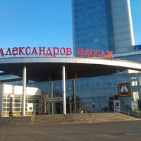 Photo taken at ТРЦ «Александров Пассаж» by Ksenia Z. on 6/14/2013