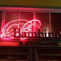 Photo taken at Bambino's Ristorante by Frank S. on 2/11/2017