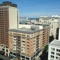 Photo taken at The Westin Portland by D P. on 5/14/2013