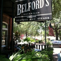 Photo taken at Belford's Savannah Seafood & Steaks by Stephanie S. on 5/26/2013