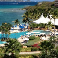 Photo taken at The Ritz-Carlton, St. Thomas by Larry T. on 3/24/2013