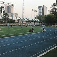 Photo taken at Thephasadin Stadium by Lawan V. on 2/14/2017
