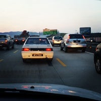 Photo taken at PLUS Highway by Azhar R. on 2/16/2014