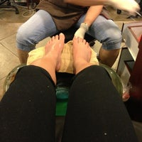 Photo taken at Elite Nails by Kimberly L. on 4/10/2013