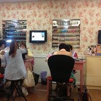 Photo taken at 妙妙指藝 Miaomiao Nail Art by Metis A. on 7/16/2013