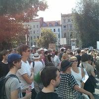 Das Foto wurde bei Critical Mass Berlin von wienervig am 7/27/2013 aufgenommen