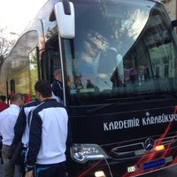 Photo taken at Kardemir DÇ Karabükspor by TC Önder Y. on 4/18/2013