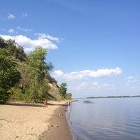 """Photo taken at Пляж турбазы """"Волга"""" by Shuriken P. on 7/31/2014"""