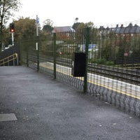 Photo taken at Dunmurry Train Station by Mr. M. on 11/5/2013