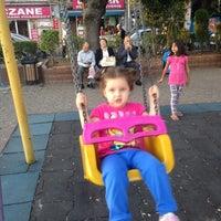 Photo taken at Büyükdere Çocuk Parkı by Manolya E. on 9/10/2013