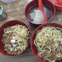 Photo taken at Bakmi Kemurnian by Valencia R. on 9/9/2017
