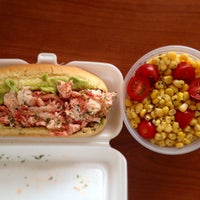Photo taken at Nauti Mobile - Luke's Lobster Truck by Suzanne D. on 5/12/2015