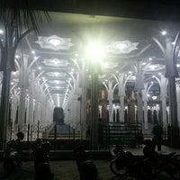 Photo taken at Masjid Agung Al-Falah by Ferdinand G. on 9/11/2013