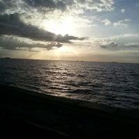 Photo taken at Praia do Chapéu Virado by Geh V. on 5/2/2013