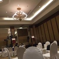 Photo taken at Centennial Hall (Manila Hotel) by Kate Alyssa C. on 11/25/2016