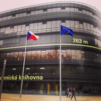 Photo taken at National Library of Technology by Petr K. on 5/2/2013