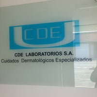 Photo taken at CDE LABORATORIOS S.A.S by Juan D. Rodriguez B. on 6/28/2013