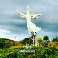 Photo taken at Monumen Yesus Memberkati by Priagung D. on 3/30/2016