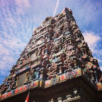 Photo taken at Sri Mahamariamman Temple by Kan K. on 7/20/2013