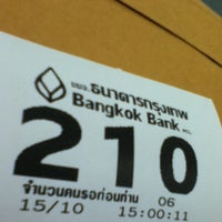 Photo taken at Bangkok Bank by pOr k. on 10/15/2012