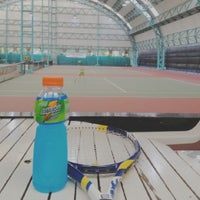 Photo taken at RBSC Tennis Court by bam p. on 12/24/2013