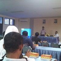 """Photo taken at Universitas Bosowa """"45"""" Makassar by Esteh_ m. on 12/27/2013"""