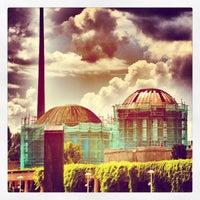 Das Foto wurde bei Jahrhunderthalle von IgersWroclaw W. am 8/24/2013 aufgenommen