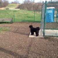 Photo taken at Normanskill Dog Park by Luke G. on 4/24/2013
