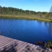 Photo taken at Белое Озеро by Nika M. on 8/4/2013
