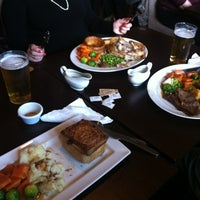 Photo taken at The Gate Clock (Wetherspoon) by Jesus on 11/18/2012
