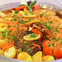 Photo taken at Najil Alba7ar by Najil alba7ar Restaurant م. on 4/25/2015