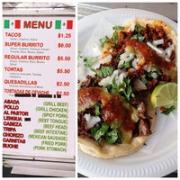Photo taken at El Taquito Taco Truck by Chow Down Detroit on 8/10/2013