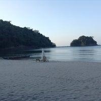 Photo taken at Playa La Caleta by 💋RF N. on 3/16/2014