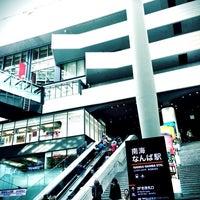 Photo taken at Nankai Namba Station (NK01) by nun_ on 2/9/2013