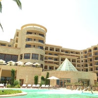 Photo taken at Mövenpick Resort & Marine Spa Sousse by Мария Т. on 7/6/2014