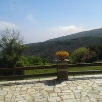 Photo taken at Kalamaki by Dionysia T. on 4/13/2013