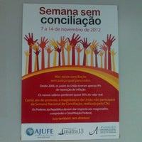 Photo taken at Fórum Maximiano Figueiredo by Oto F. on 11/14/2012